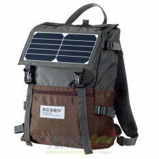 กระเป๋า โซล่าเซลล์ 5 W + ฟรี power bank 2,000 mAh