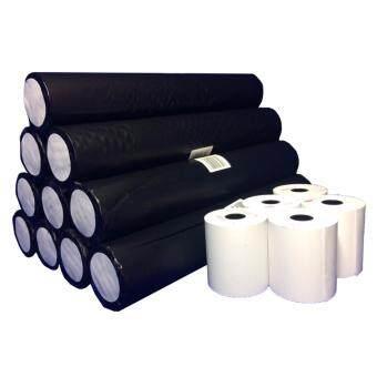 กระดาษความร้อน เทอร์มอล 57mm x 50mm แพ็ค 50 ม้วน คุณภาพดี เต็มม้วน จากบีเอสซี ฯ