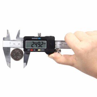 เวอร์เนียร์ ดิจิตอล 6 นิ้ว เครื่องวัดดิจิตอลอิเล็กทรอนิคส์ LCDเวอเนีย เวอเนียร์ เวอร์เนีย Vernier Digital. ฟรี Dual USB พอร์ต3.1a อะแดปเตอร์ ชาร์จแบตในรถยนต์ 1 ชิ้น มูลค่า มูลค่า 199 บาท