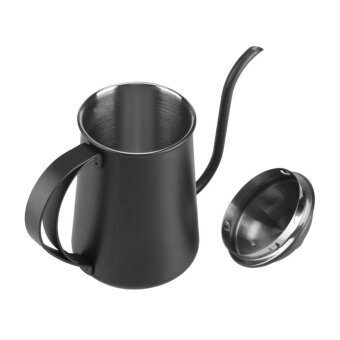650ML Stainless Steel Gooseneck Spout Kettle Pour Over Coffee TeaHome Brewing Drip Pot .