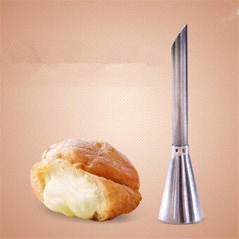 หัวฉีดบีบไส้เอแคร์ หัวฉีดไส้ครีม ไส้เอแคร์ ขนม ขนาดยาว 7.5 ซม.