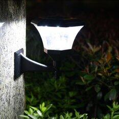 โคมไฟผนัง ทรงหกเหลี่ยม 8 Super SMD LED (เเสง : ขาว)