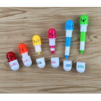 ขายด่วน ปากกาแคปซูล (คละสี) จำนวน 80 ด้าม