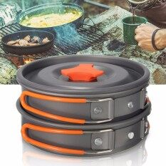 THB 381. 8Pcs Portable Outdoor Cooking 1 Set Camping ...