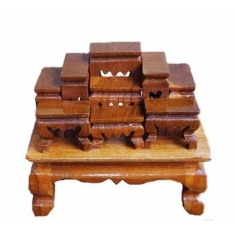 โต๊ะหมู่บูชาไม้สัก หมู่ 9 หน้า 1