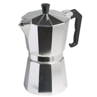 ที่ต้มกาแฟ หม้อต้มกาแฟ แบบอะลูมิเนียม ขนาด 9 ถ้วย