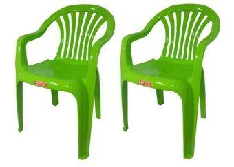 อยากขาย เก้าอี้สนาม มีพนักพิง และ ที่เท้าแขน รุ่น 999 สีเขียวมะนาว แพ็ค2ตัว