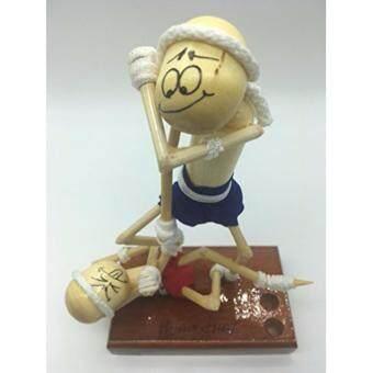 ประกาศขาย ที่เสียบปากกามวยไทย ดินสอ รูปตุ๊กตาชกมวย (A)
