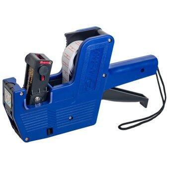 A-shop เครื่องพิมพ์ 8 หลัก สำหรับพิมพ์สติกเกอร์ รุ่น PL-MX-5500 (สีน้ำเงิน)