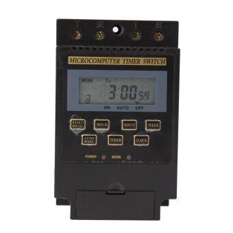 AC 220V LCD Microcomputer Timer Switch Programmable ControllerKG316T - intl