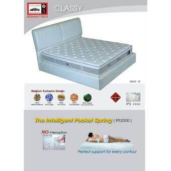 ADDHOME ที่นอนระบบ Pocket Spring เพื่อสุขภาพ ขนาด 5 ฟุต รุ่นClassy-5 (สีเทา)