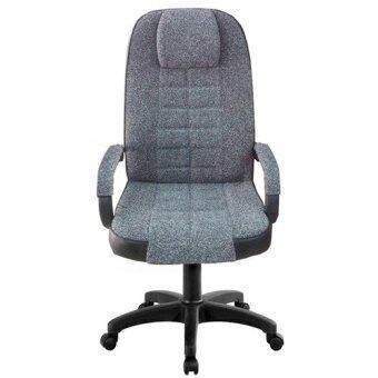 ADHOME เก้าอี้ผู้บริหารหุ้มผ้า หลังสูง รุ่น PR-156 (สีเทา)