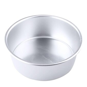 ADS Practical High-quality Hot Sell 5\ Aluminum Alloy Non-stick Round Cake Baking Mould Pan Tin Mold Tray Tool - intl