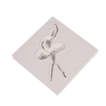 ADS Practical High-quality Hot Sell Vintage Silicone Dance Ballet Girl Shaped Cupcake Fondant Cake Mould Cake Molds - intl
