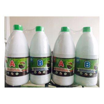 ไฮโดรโปนิกส์ HYDROHOBBY ปลูกพืชไม่ใช้ดิน ธาตุอาหารรองอาหารเสริม AB 1000 cc. 2 แพ๊ค (ชนิดน้ำ)