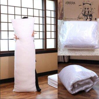 อะนิเมะ Dakimakura สีขาวกอดร่างกายหมอนด้านใน 150X50 เซนติเมตร (59in X 19.6in)