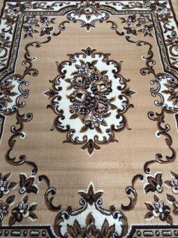 ANNAS Carpet พรม rugs AY018 -PP 160 x 210 cm (LIGHT BROWN)