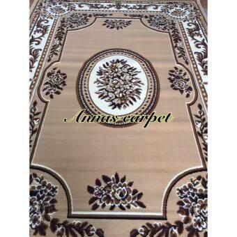 ANNAS Carpet พรม rugs AY023-1PP 210x 310 cm สีครีมน้ำตาล