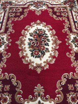 ANNAS Carpet พรม rugs BY001 -PP 170 x 230cm (RED)