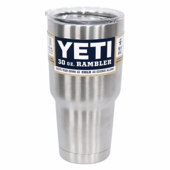 ArmaMink แก้ว YETI Rambler ป้องกันน้ำรั่วไหลฝาแก้วเยติมีฝาปิดรูหลอด 30 Oz.