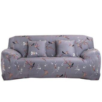 Art Spandex Stretch Slipcover Printed Sofa Furniture Cover - intl