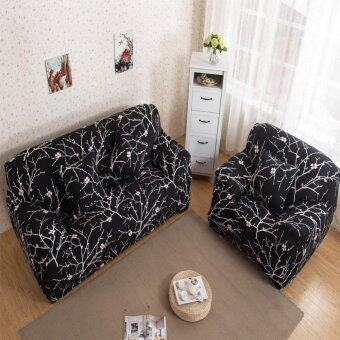 Art Spandex Stretch Slipcover Printed Sofa Furniture Cover - intl รีวิว
