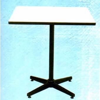 Asia โต๊ะอาหารหน้าโฟเมก้า ขนาด 30x30นิ้ว สีขาว T39