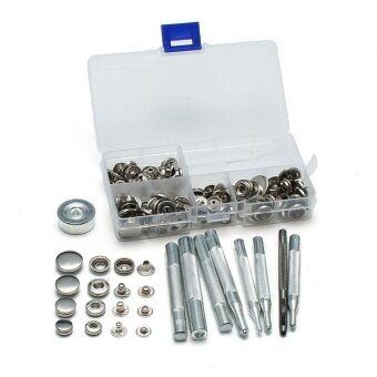 Assortment size Metal General Tools & Instruments DIY Sewing Press Studs Button Snap Fastener - intl