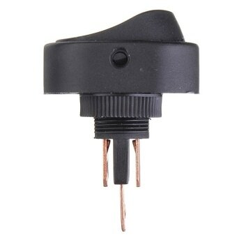 Harga ASW-20D car modification switch with LED lights Green