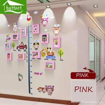 Baffect Children s Day Wood Photo Frames Wall Decal Sticker- TheSweetest Highlight of Your Home and Family - intl