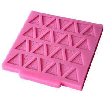 มินิเค้กแม่พิมพ์ซิลิโคนทำเป็นธงชายอักษร\nและพิมพ์เค้กซิลิโคนจำนวนฟองดองท์ Bakeware\nซ่อมนู่นตกแต่งสำหรับขนมในครัว