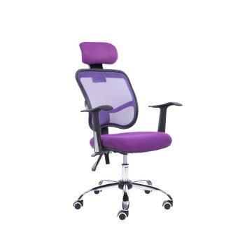 ประกาศขาย B&G โฮมออฟฟิศ เก้าอี้สำนักงาน (Purple) - H1-B