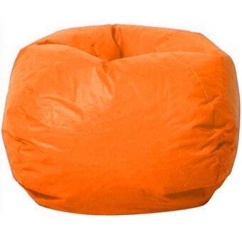 โปรโมชั่นพิเศษ BEAN BAG เก้าอี้เม็ดโฟม 60*70cm (ส้ม)