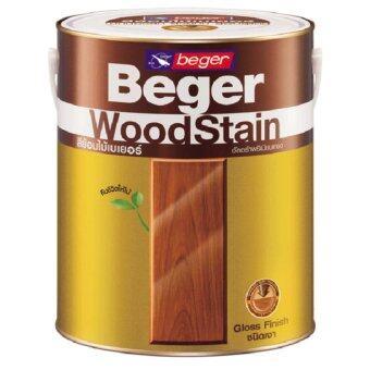 Beger WoodStain สีย้อมไม้เบเยอร์ G-1906 สีไม้มะค่า1 กระป๋อง