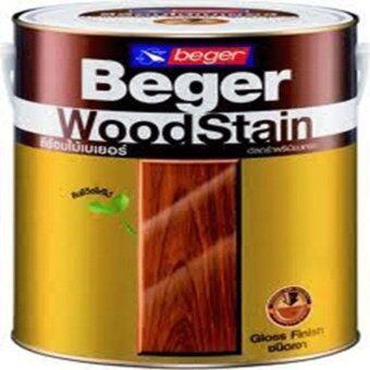 Beger WoodStain สีย้อมไม้เบเยอร์G-1906สีไม้มะค่า(แกลอนใหญ่)