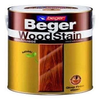 Beger WoodStain สีย้อมไม้เบเยอร์G-1910 สีไม้วอลนัท(แกลอนใหญ่)