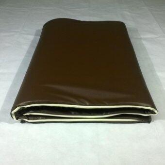 BeRest ที่นอนปิคนิคยางพาราแท้ 100% ขนาด 6ฟุต หนา 2 นิ้ว หุ้มหนัง PVC กันน้ำ