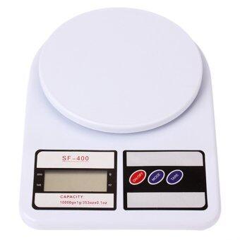 BEST Tmall Eaze Electronic Kitchen Scale Max 7 Kg. รุ่น SF-400เครื่องชั่งน้ำหนักดิจิตอล (สีขาว)