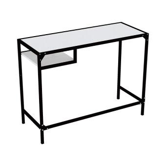 สนใจซื้อ Besta โต๊ะทำงานพร้อมชั้นวาง รุ่นกาก้า (สีขาว/ดำ)