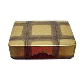 BG140 กล่องเอนกประสงค์ญี่ปุ่น เคลือบสีอาคิลิคเงาลาย สีทอง
