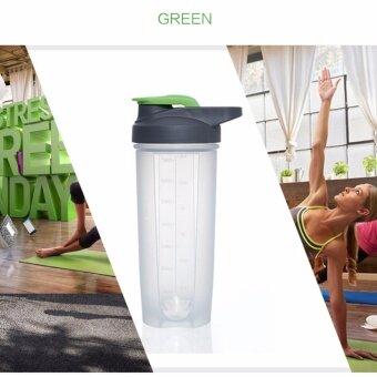 Blender Bottle แก้วเชค Carry me700 mlสีเขียว