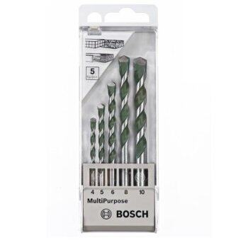 bosch cyl 4 multimeterial 5 2608680798 1456898725 6385605 1 product ขายถูก Bosch ดอกเจาะ ปูน/ไม้/เหล็ก CYL 4 MultiMeterial 5ดอก/ชุด รุ่น2608680798  สีเงิน