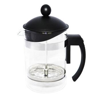 เหยือก กาชงกาแฟ ที่ชงกาแฟสด FrenchPress ขนาด 4 ถ้วย - สีดำ