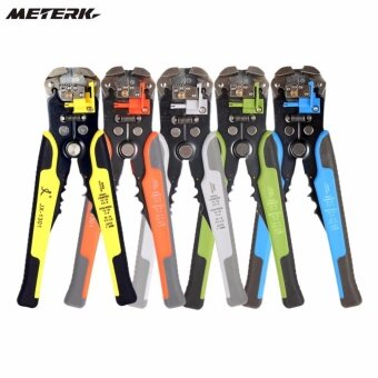 คีมปอกสายอัตโนมัติ + ย้ำสาย + ตัดสาย Cable Wire Stripper CutterPliers Crimping automatic multifunction Crimping Stripping PliersAdjustable Multitool hand tools