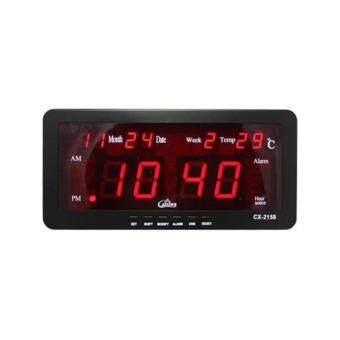 Caixing นาฬิกาดิจิตอล รุ่น CX2158 -Black