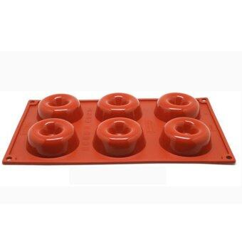 Cake Tools Silicone Bakeware DIY Jelly Donuts Chocolate Cheese Cake\nPudding Mold - intl