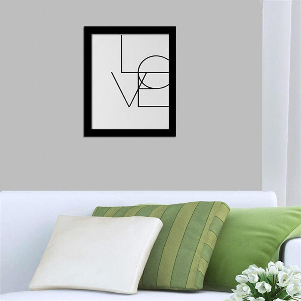 Canvas Art Print Poster KARA Letter Painting Wall Pictures Sticker Home Decor