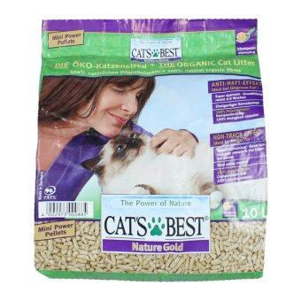 Cat's Best Nature Gold ทรายแมว 10L (สีม่วง)