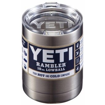 Catwalk Yeti Rambler Stainless Steel Coffee Mug Cup Insulated 10ozTumbler New - intl