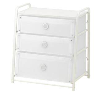 CK ตู้ 3 ลิ้นชัก 55*62 ซม. Chest of 3 drawers(ขาว)